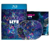Coldplay Live 2012 Dvd, Blu-ray en Cd